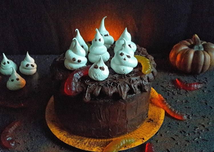 La Délicieuse Recette du Layer cake fantômes de l'opéra