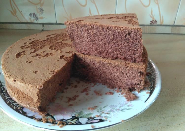 Chocolate vanilla cake #bakingcontest