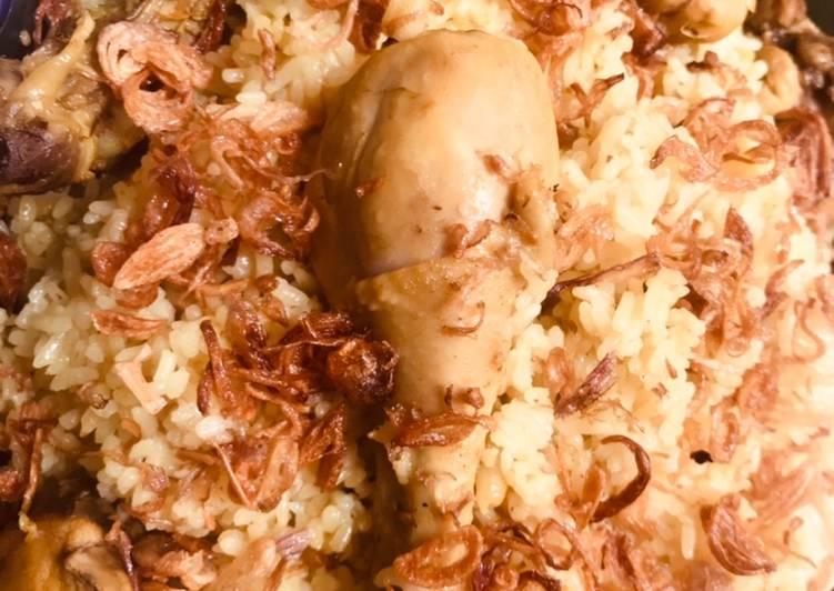 Resep Nasi kebuli ayam , Bikin Ngiler