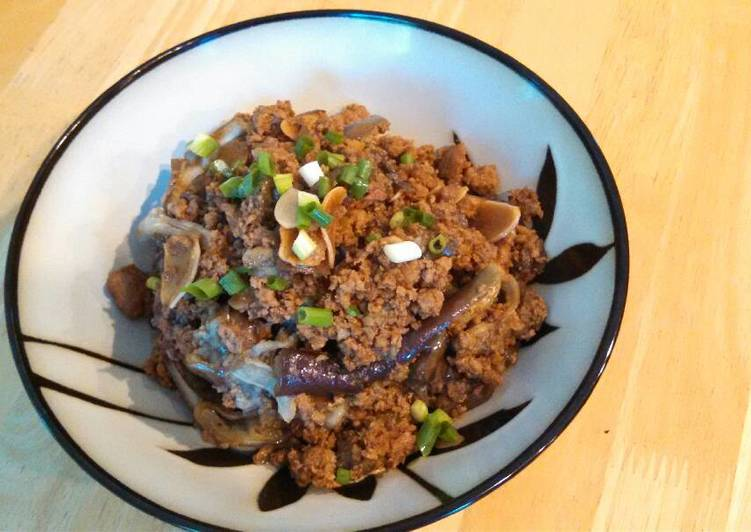 Pork and Eggplant (肉末茄子🍆)