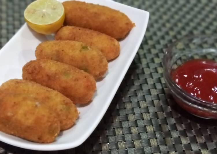 25 Minute Step-by-Step Guide to Prepare Cooking Chicken cheese kabab