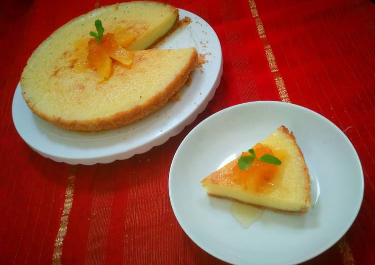 Step-by-Step Guide to Make Top-Rated Orange Cheese Cake