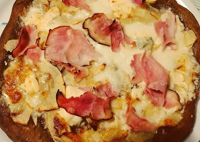 Ricetta Grissini Bonci.Recipe Of Quick Pizza Ai 7 Cereali Metodo Bonci Pizza Margherita