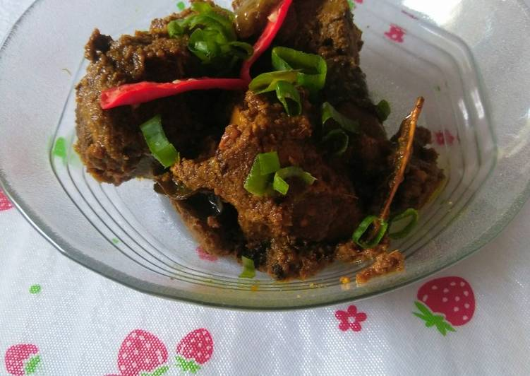 Resep Hati sapi masak gulai cincang ramah anak Yang Gampang Bikin Nagih