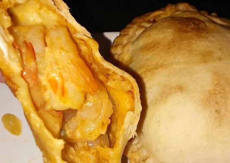 Empanadas de camarones al horno🍤Mmmmm