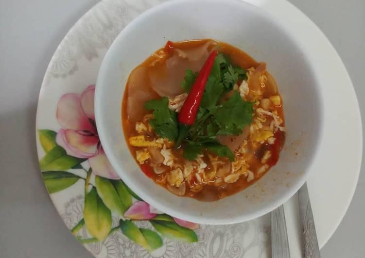 Resep Seblak krupuk dan telur Yang Populer Bikin Nagih