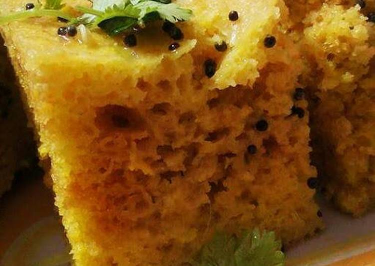 5 Minute Recipe of Autumn Dhokla