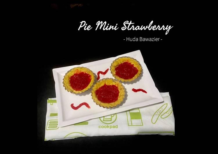 Mini pie strawberry