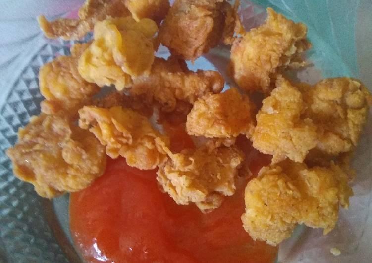 Ayam popop / chicken popcorn