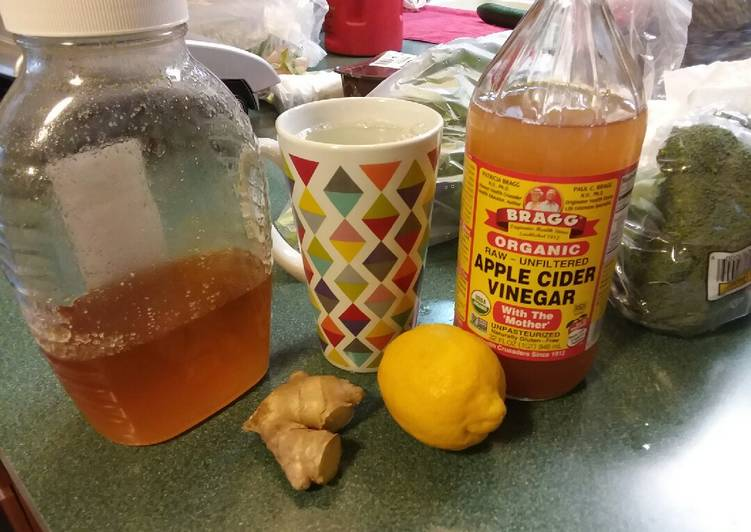 Jump-start Ginger Lemon Tea 🍋