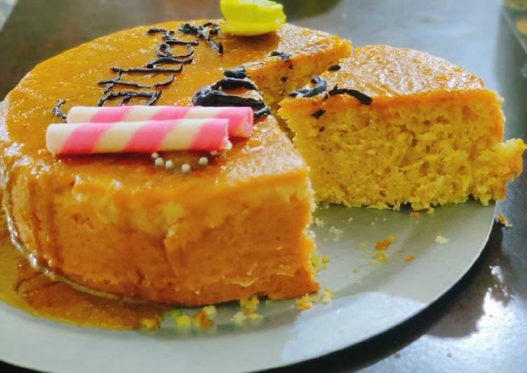 5 Minute How to Make Vegan Lemon Glaze Lemon Cake