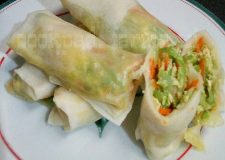 Resep Lumpia kukus isian sayur oleh farida_wi - Cookpad
