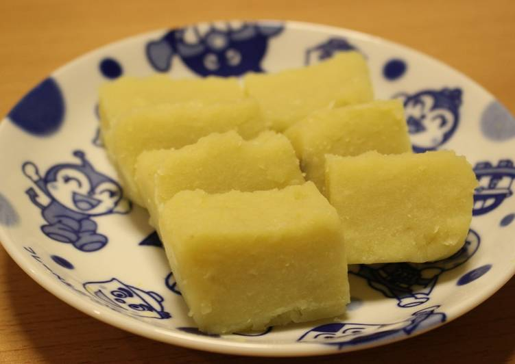 Recipe of Speedy Sweet Potato Yokan (Imo-yokan)