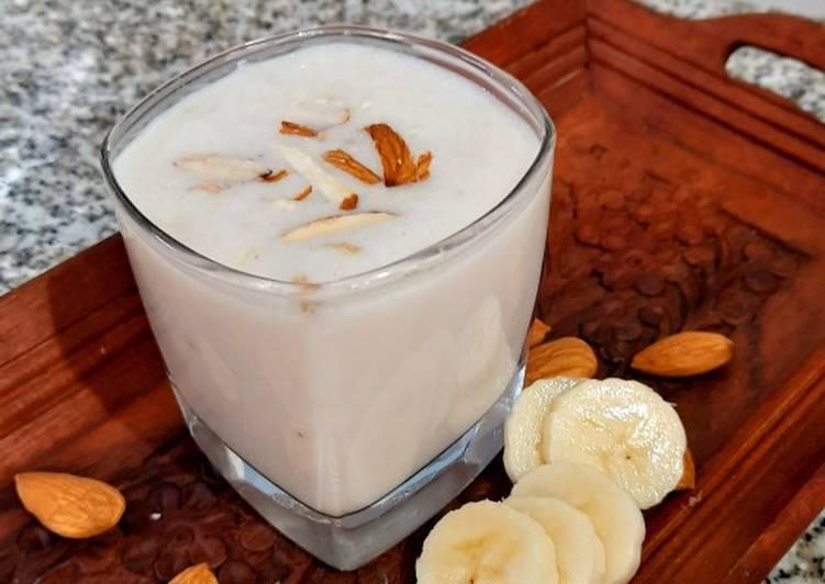Easiest Way to Prepare Most Popular Banana Milkshake