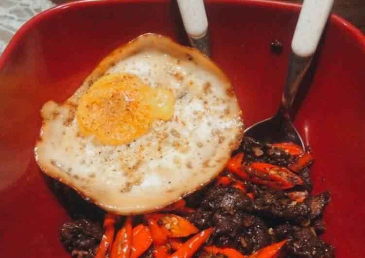Black Pepper Beef Bowl Super Pedas (Sapi Lada Hitam) 🌶