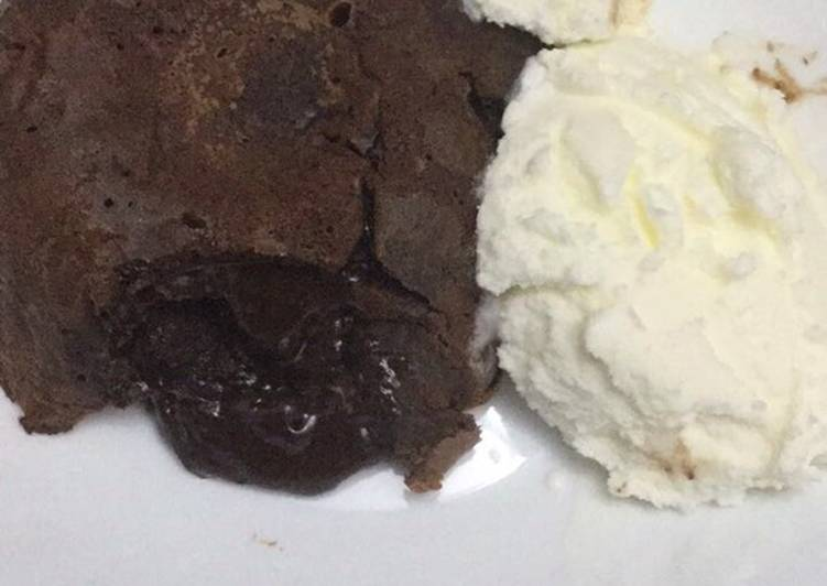 Easiest Way to Prepare Super Quick Homemade Molten lava cake