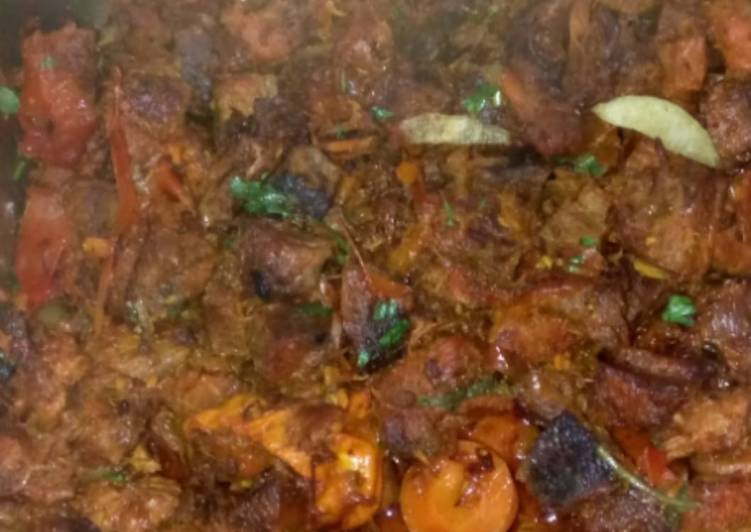 Carrot beef stew