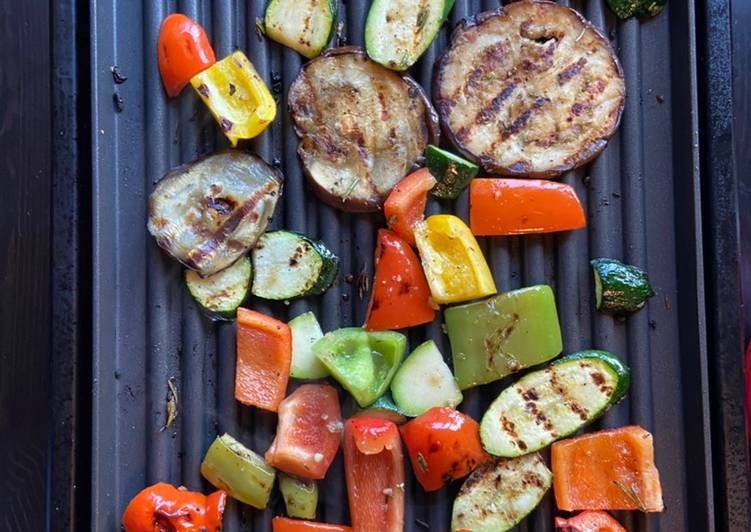 Old Fashioned Dinner Ideas Quick Multipurpose Mediterranean Grilled Vegetables