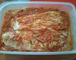 Kimchi / sawi putih / masakan korea