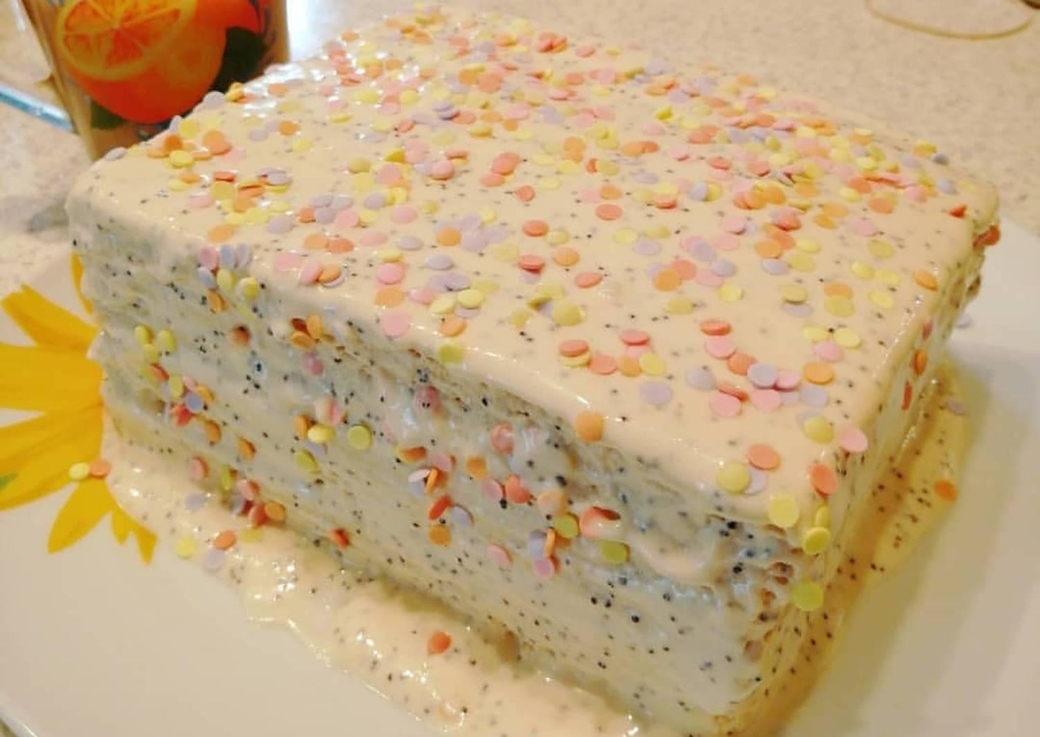 пошаговые рецепты домашних тортов без выпечки фото дважды хотели
