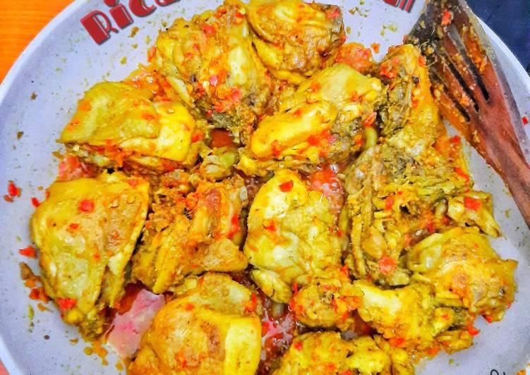 Rica-Rica Ayam #dapurelbeweek15