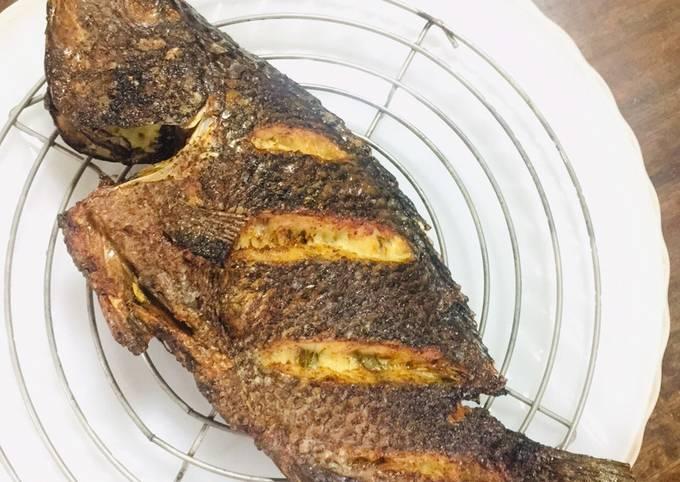 Recipe of Simple Air Fryer Fish - Crispy Tilapia Step by Step