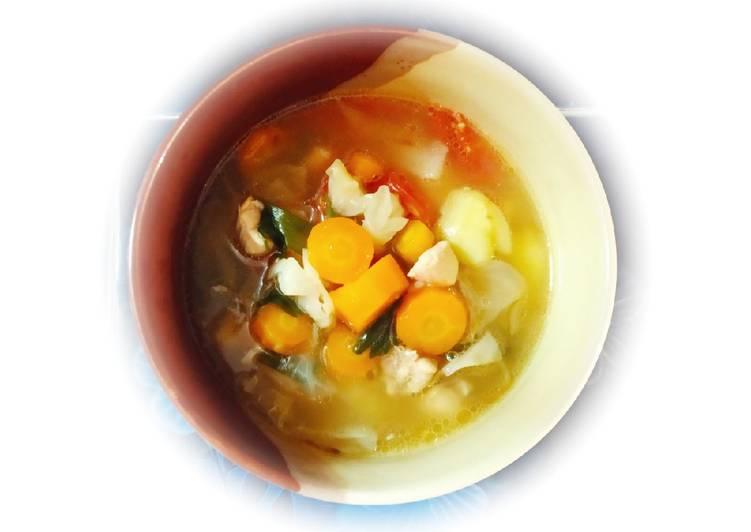 Tutorial Mempersiapkan Resep Sempurna Dari Sop Ayam Simple