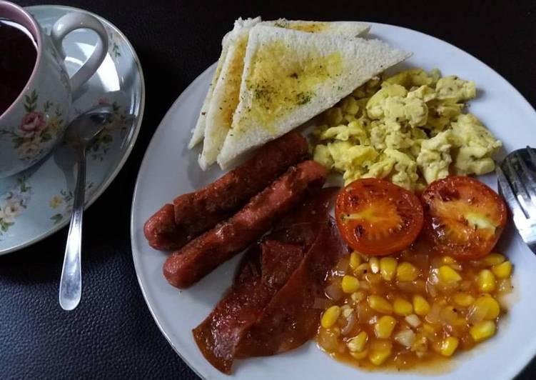 Resep English Breakfast Bikin Ngiler