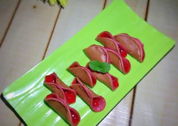 Martabak Manis Mini lipat (red velvet)