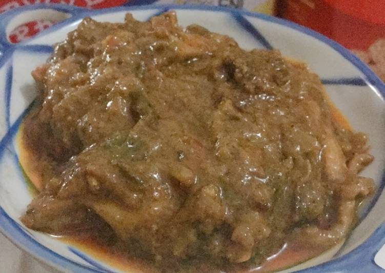 Kari Ayam India / Indian Chicken Curry