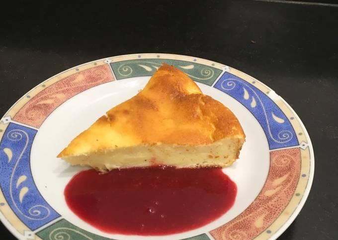 Gâteau tout léger au fromage blanc - LRQDO
