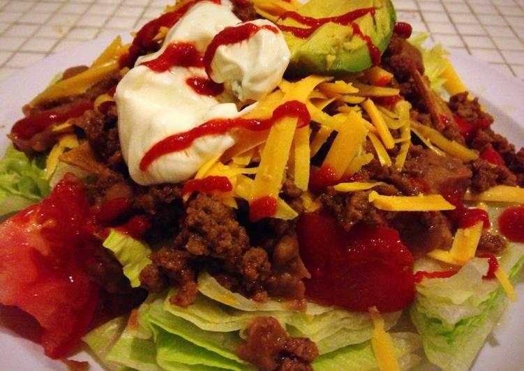 Steps to Prepare Homemade Taco Salad