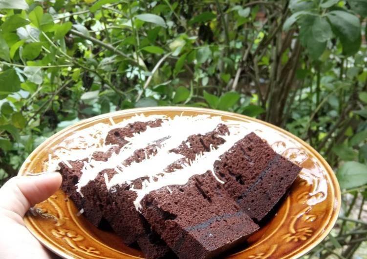 Brownies Kukus Super Nyoklat