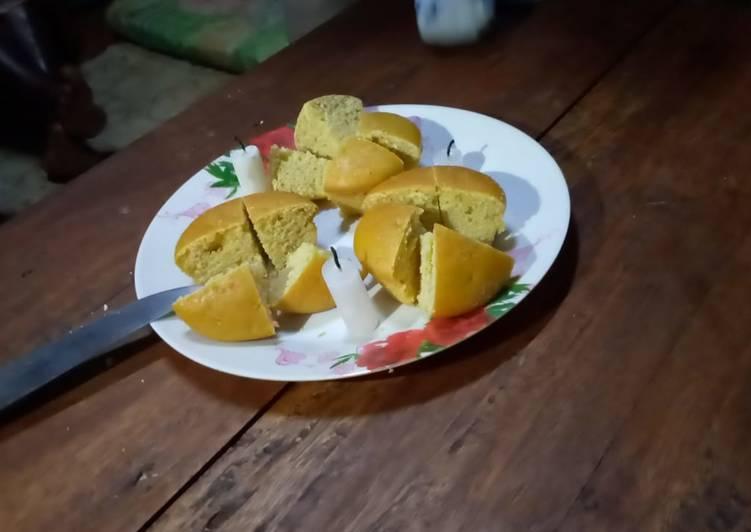 Recipe of Favorite Orange/vanilla cup cakes