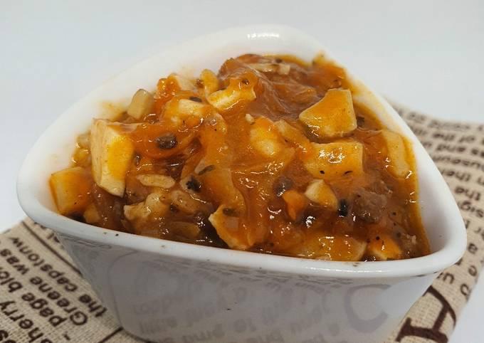 Bolognese sauce vegetarian ala Fe