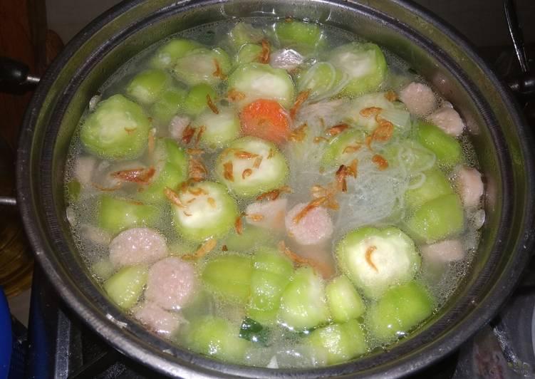 Resep Sup Gambas Soon Simpel Yummy Istimewa