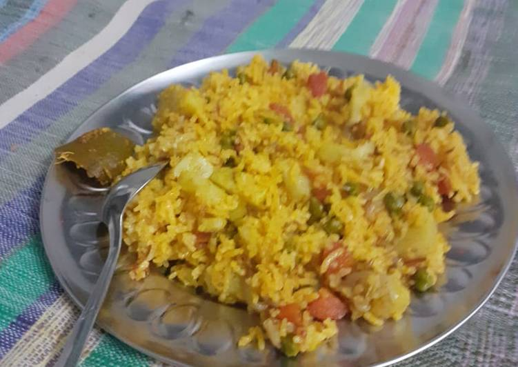 How to Make Ultimate Veg pulav