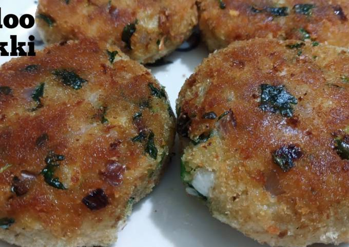 Easiest Way to Cook Tasty How to Make Easy & Crispy Aloo Tikki Recipe/ Spicy Aloo Tikki