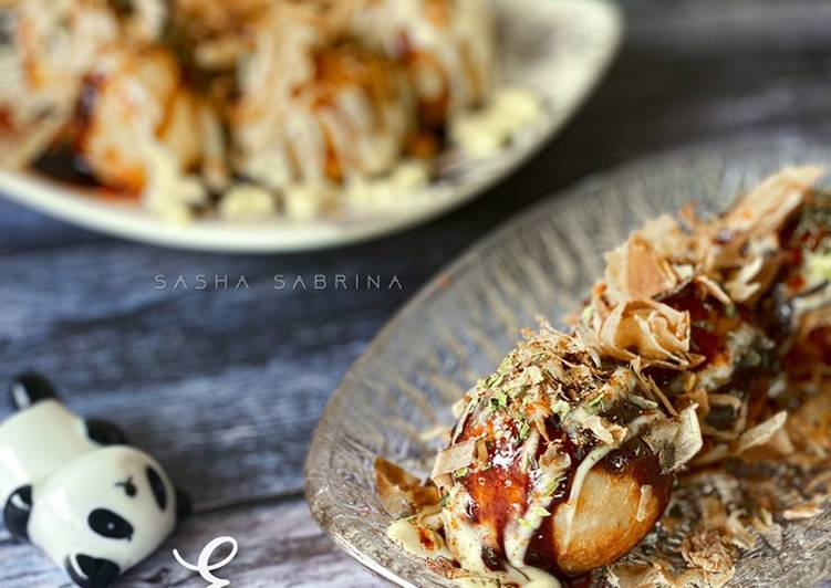 Easy Takoyaki Mudah & Super Sedap