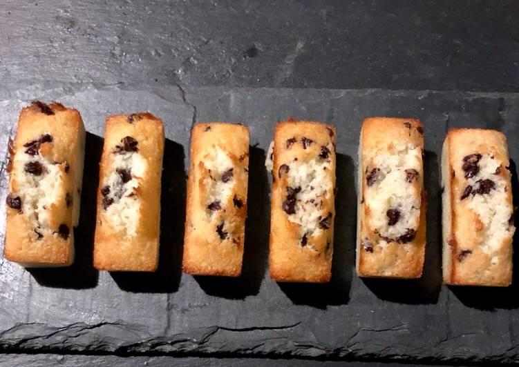 Financiers coco et pépites de chocolat – Epicurious Cookbooks