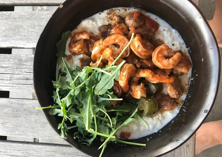 "Step-by-Step Guide to Make Super Quick Homemade Shrimp & Cauliflower ""Grits"""