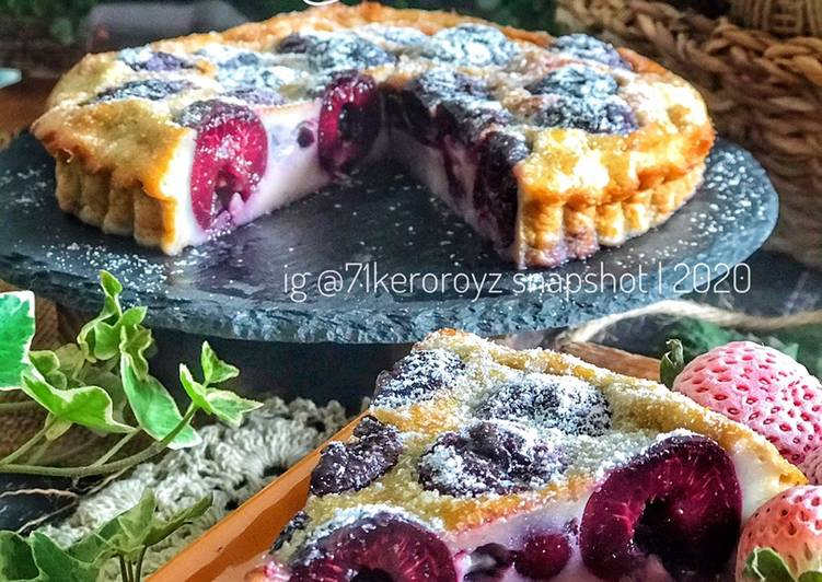 🍒Cherry Clafoutis Airfryer - resepipouler.com