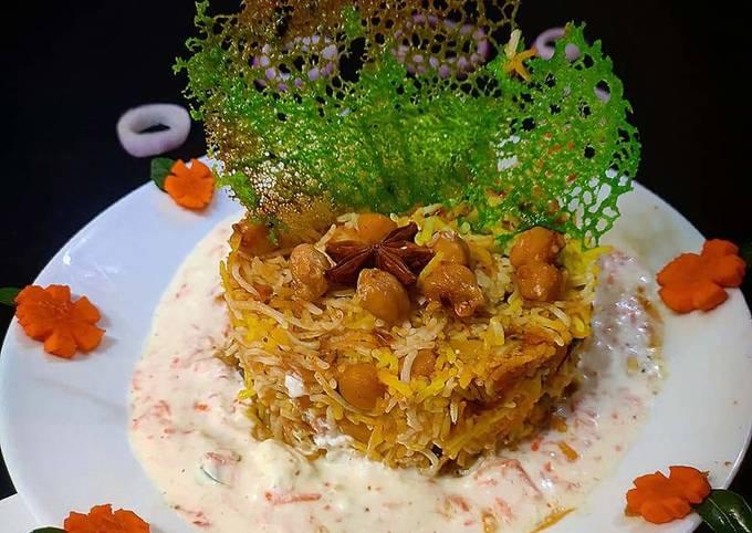 Recipe of Favorite Chola dum biryani