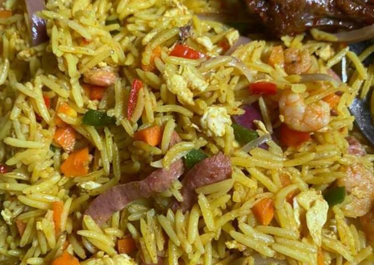 Recipe of Award-winning Basmati Fried Rice