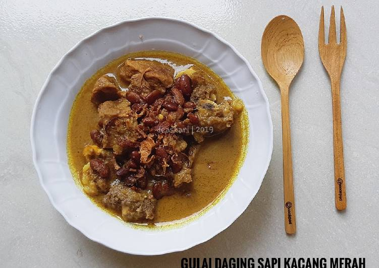 Gulai Daging Sapi Kacang Merah