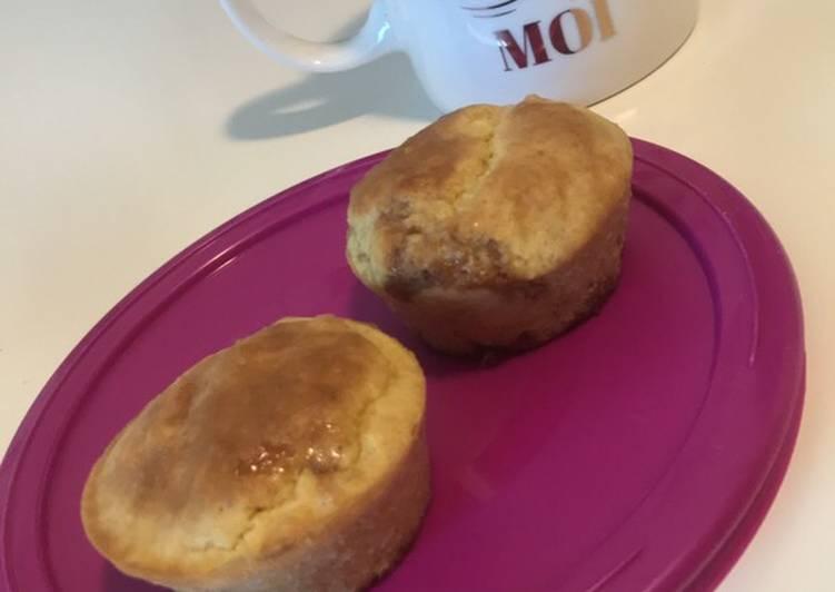 Recette De Muffin coeur fraise 🍓