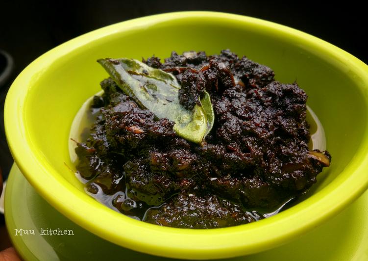 Resep Bumbu Dasar Rawon Kluwek Khas Jawa Timur Oleh Muu Kitchen S Cookpad