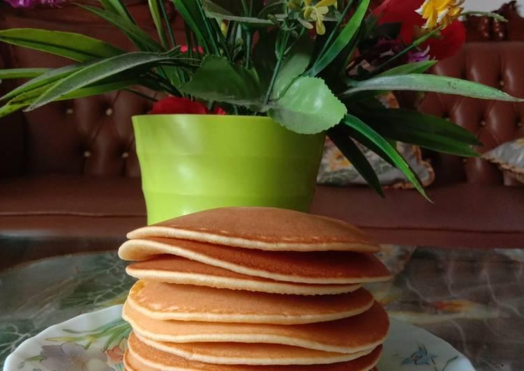 Resep Pancake Teflon Simple Paling dicari