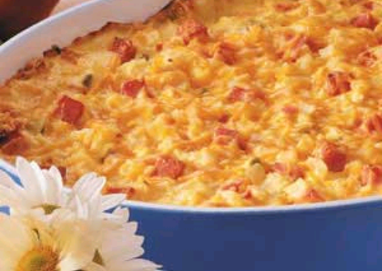 Cheesey Ham & Hash Brown Bake, Heart Friendly Foods You Must Eat