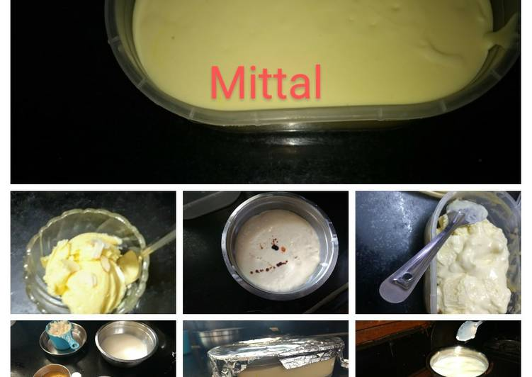 10 Minute Step-by-Step Guide to Make Fall Mango ice cream